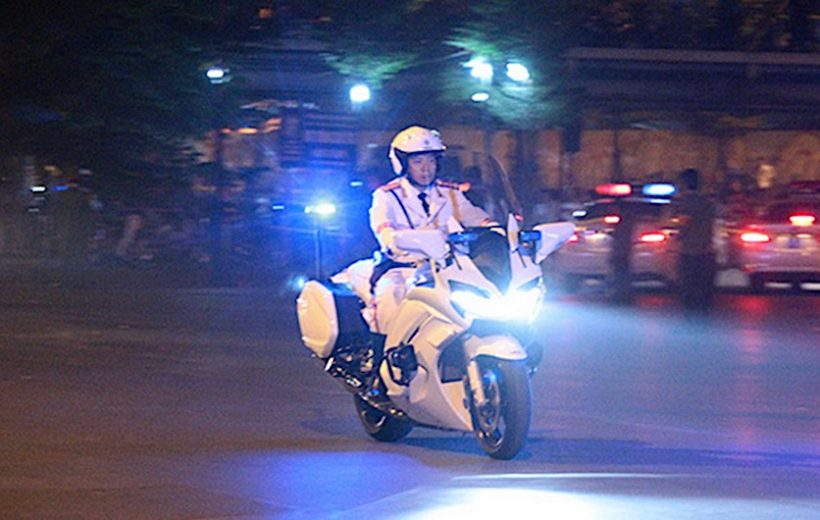 Chiêm ngưỡng dàn xe Yamaha FJR1300P của đoàn hộ tống Việt Nam