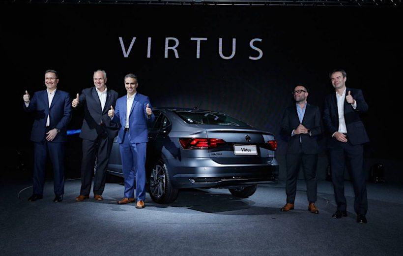 Volkswagen Virtus 2018 chính thức ra mắt tại Brazil