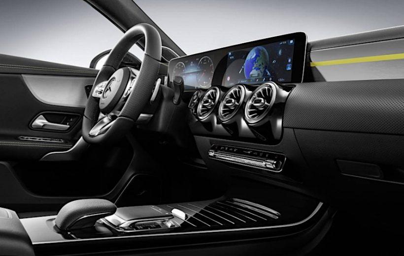 Cận cảnh nội thất Mercedes- Benz A-Class 2018