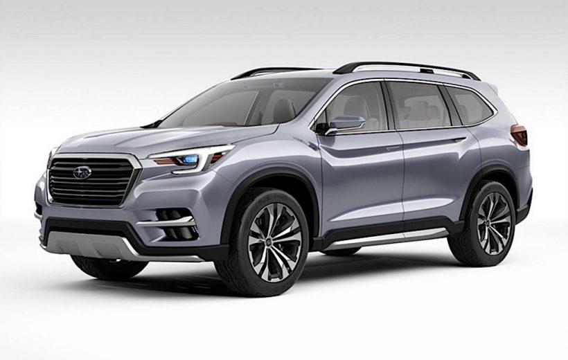 Subaru Ascent 2019 chuẩn bị ra mắt tại Los Angeles Auto Show