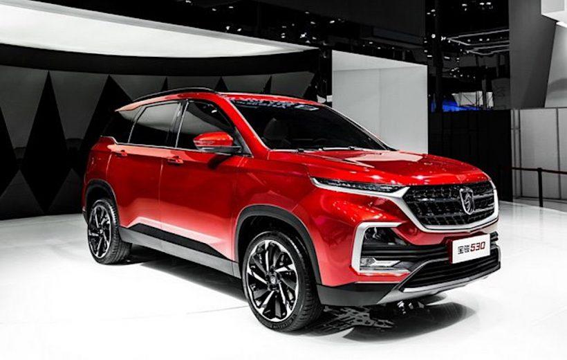 Mẫu xe SUV Baojun 530 ra mắt tại thị trường Trung Quốc