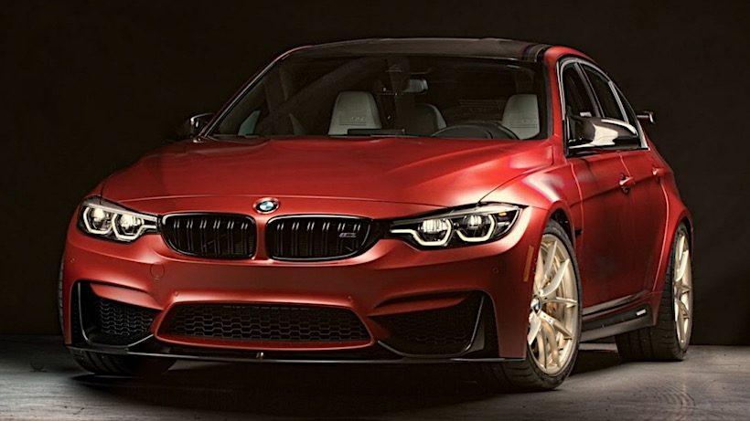 BMW M3 phiên bản kỷ niệm 30 năm sẽ được bán ra chỉ 150 chiếc