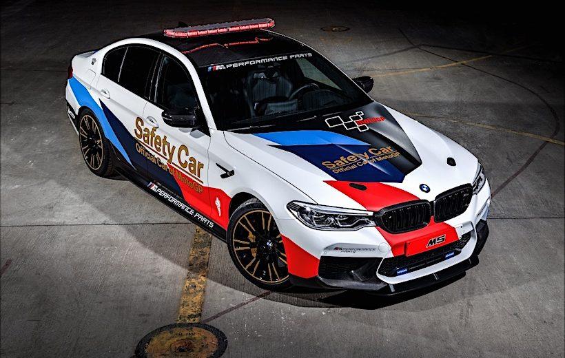 BMW Safety Car chính thức ra mắt tại giải Moto GP 2018