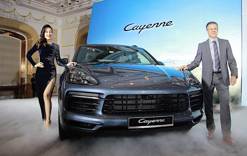 Cayenne thế hệ mới chính thức được Porsche ra mắt tại Việt Nam