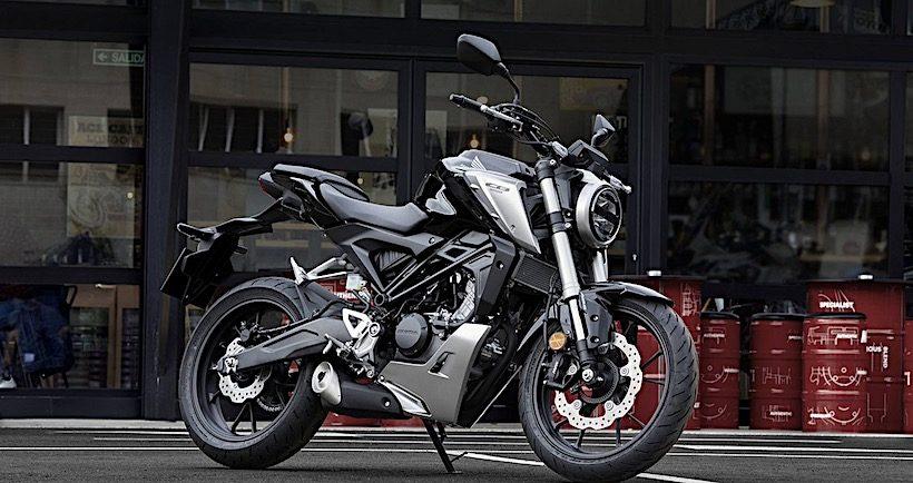 Honda CB125R chính thức ra mắt tại triển lãm EICMA
