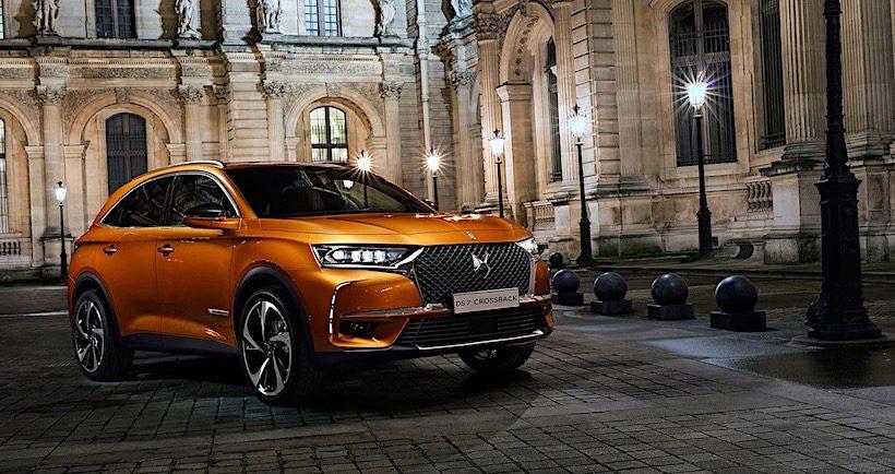 Mẫu xe crossover SUV DS7 chính thức bán ra tại Anh
