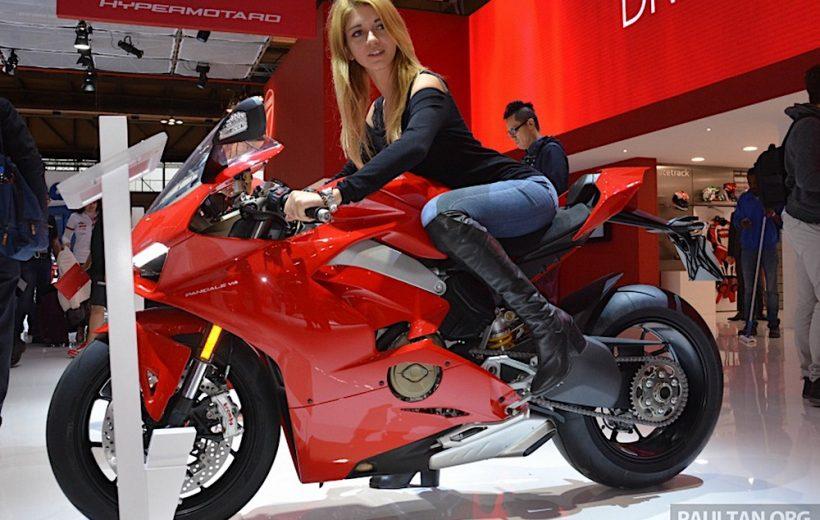 Chiêm ngưỡng Ducati Panigale V4 tại triển lãm EICMA 2017
