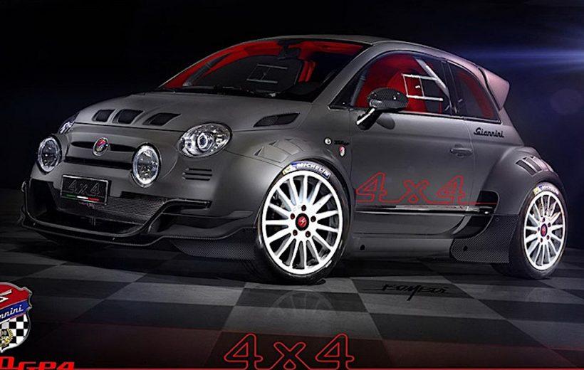 Fiat 500 Giannini 350 GP- Mẫu xe độ có giá bán hơn 4 tỷ đồng
