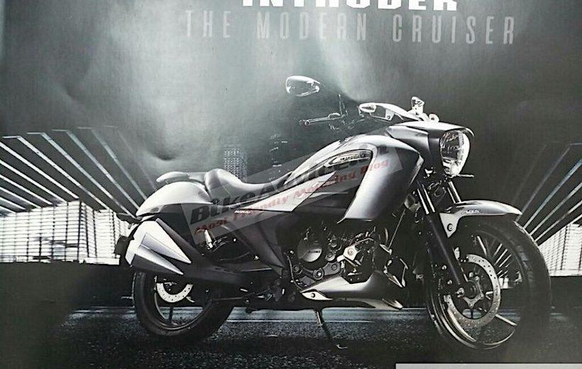 Suzuki chuẩn bị cho ra mắt mẫu cruiser 150cc hoàn toàn mới
