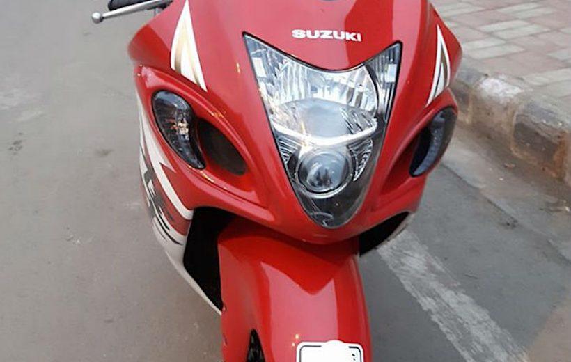 Hero MotoCorp Xtreme lột xác thành Suzuki Hayabusa