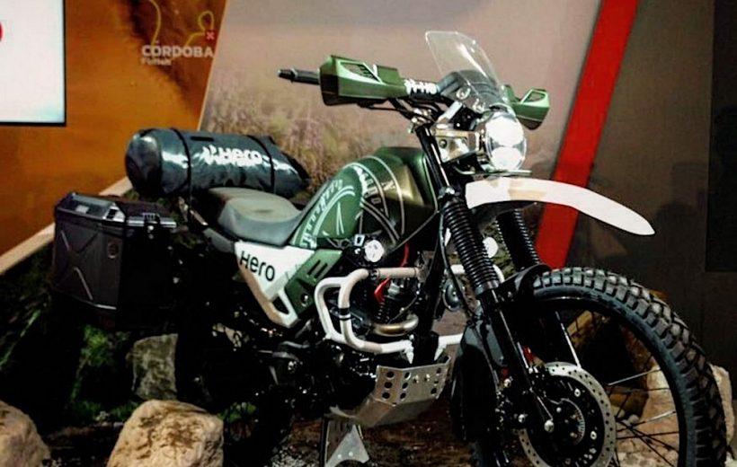 Mẫu xe offroad Hero Xpulse sẽ được ra mắt tại Ấn Độ