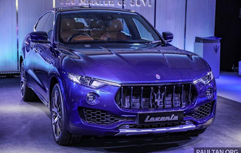 Maserati Levante S ra mắt tại thị trường Malaysia với giá từ 4,3 tỷ đồng