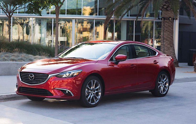 Mazda 6 bị thu hồi 206.570 tại thị trường Trung Quốc