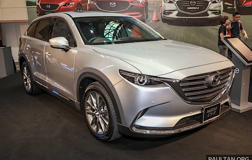 Phiên bản nâng cấp của Mazda CX-9 sẽ có giá 1,7 tỷ đồng tại Malaysia