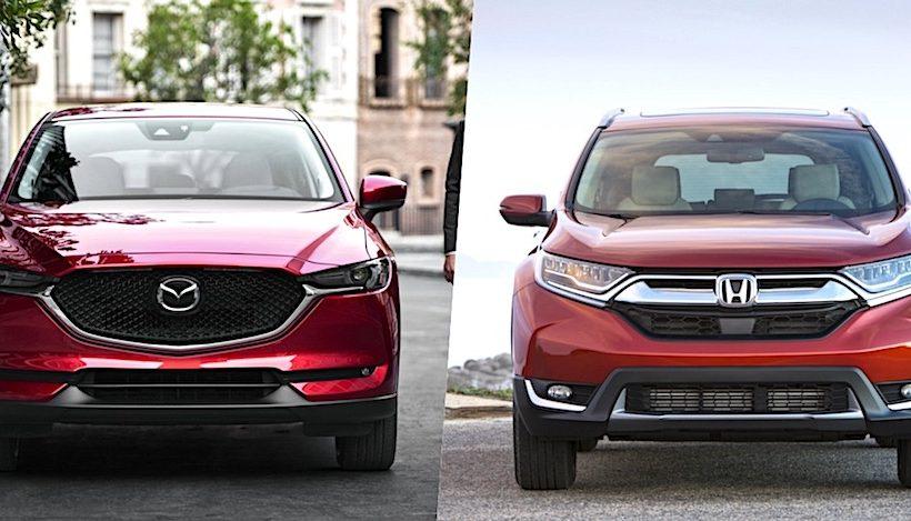 Lựa chọn Mazda CX-5 hay Honda CR-V ?