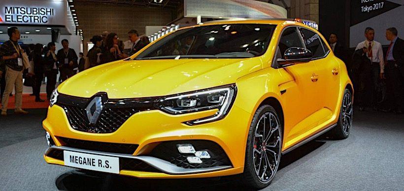 Renault Megane RS- Đối thủ nặng ký trong phân khúc hatchback