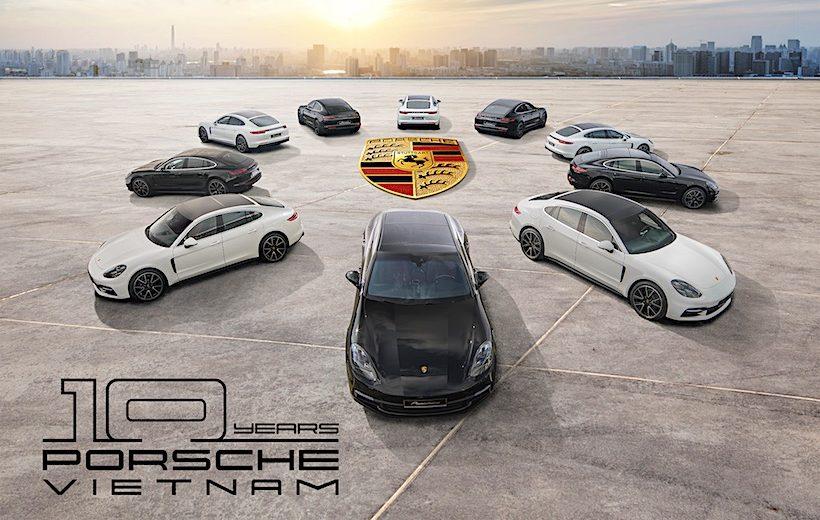 Porsche Việt Nam tổ chức sự kiện lớn kỷ niệm 10 năm ra mắt