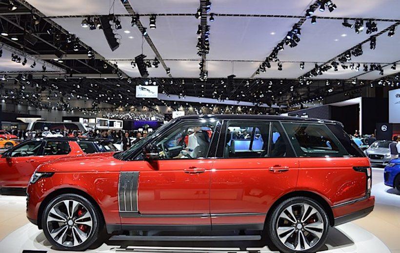 Cận cảnh Range Rover SVAutobiography Dynamic 2018