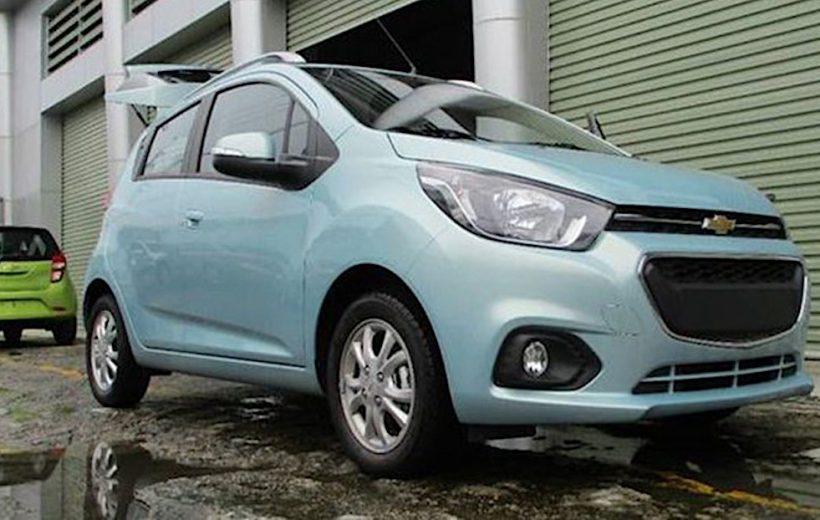 Chevrolet Spark 2018 đã xuất hiện tại Việt Nam