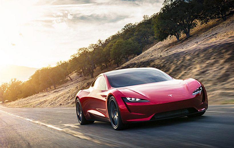 Tesla Roadster- Xe điện nhanh nhất thế giới