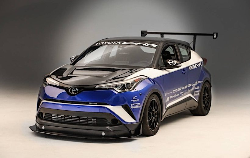 Toyota C-HR R-Tunned: Mẫu xe Crossover FWD nhanh nhất thế giới