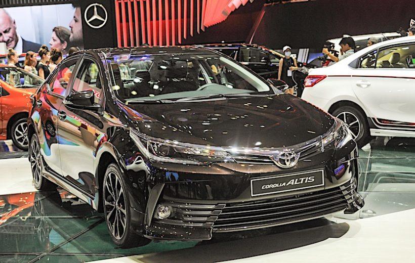 Những mẫu xe sedan bán chạy trong tháng 10 tại Việt Nam