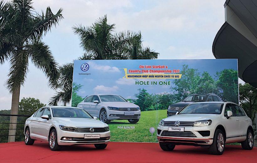 Volkswagen sẽ tài trợ chính thức Giải Golf Hole In One