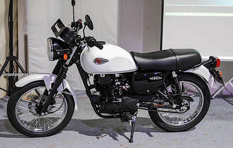 Kawasaki W175 chính thức bán ra với giá từ 50 triệu đồng tại Indonesia