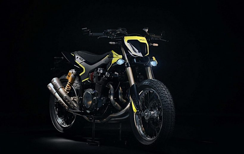 Chiêm ngưỡng Yamaha XJR1300 Flat Tracker dành riêng cho Valentino Rossi