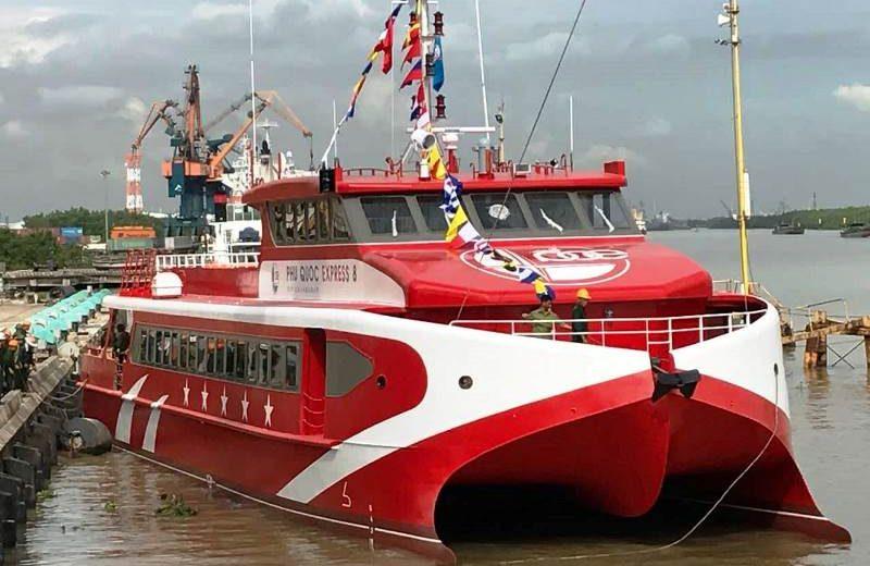 Thêm tàu cao tốc đến các đảo tại Kiên Giang
