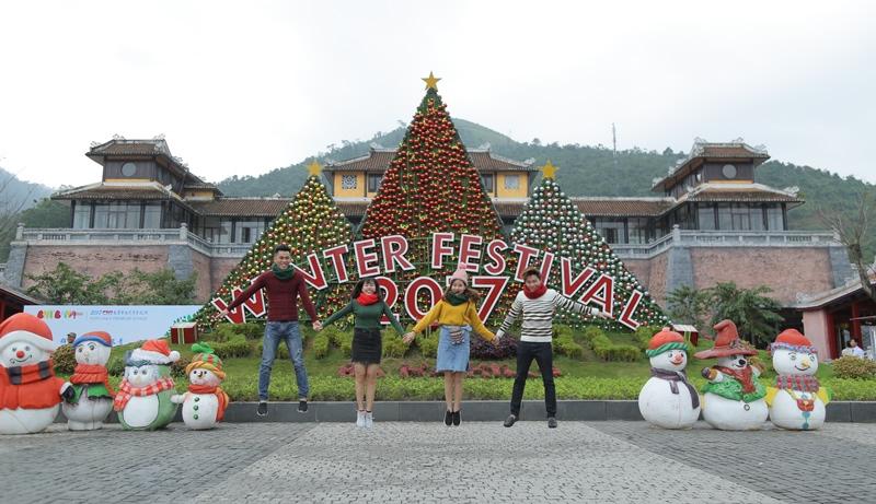 Lễ hội mùa đông đẹp như cổ tích tại Sun World Bà Nà Hills