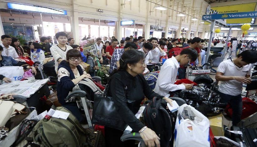 Tăng khoảng 3.000 chuyến bay phục vụ Tết Nguyên đán