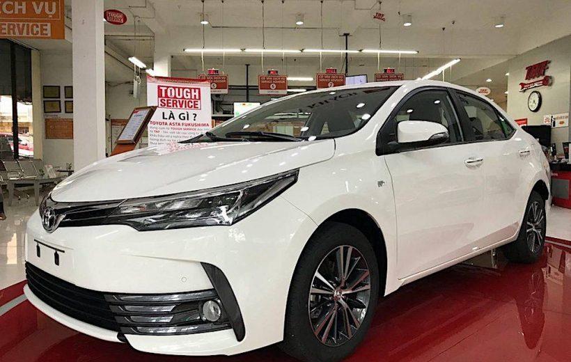 Ảnh chi tiết Toyota Corolla Altis 2.0 tại Việt Nam