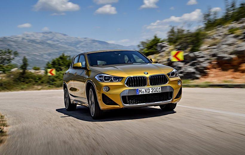 BMW X2 2018 sẽ có giá bán từ 39.395 USD