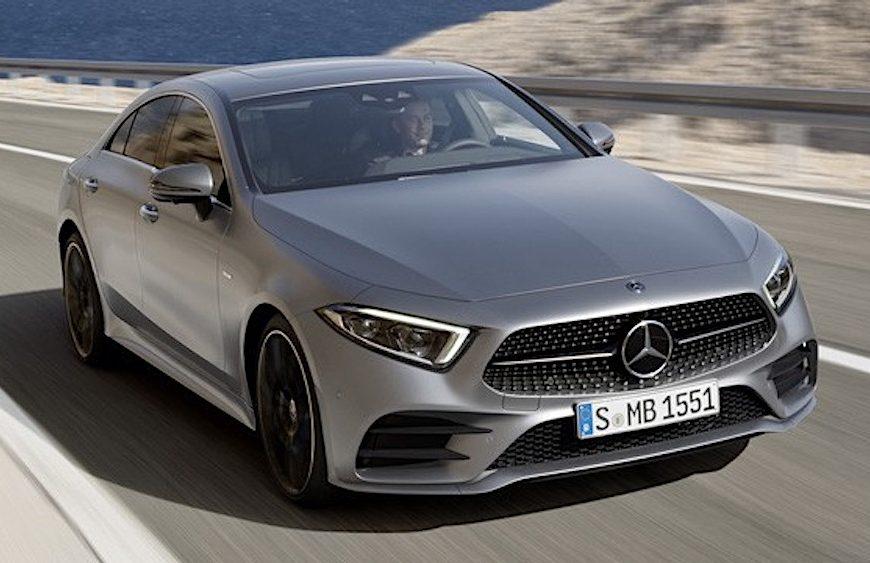 Mercedes CLS 2019- couple 4 cửa hoàn toàn mới có giá bán từ 1.8 tỷ đồng