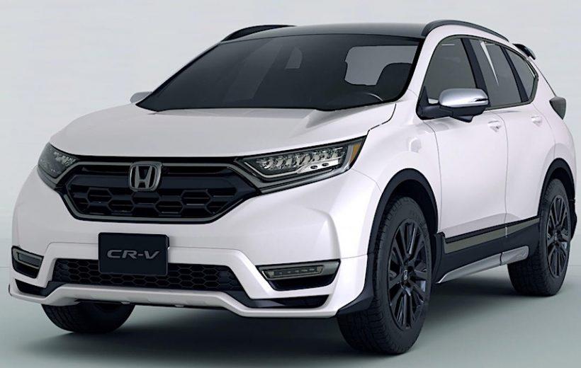 Honda công bố hình ảnh CR-V Custom Concept hoàn toàn mới