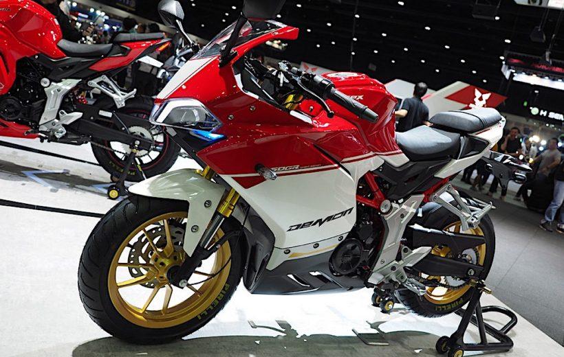 Demon 150GR- Ducati Panigale thu nhỏ đến từ Thái Lan