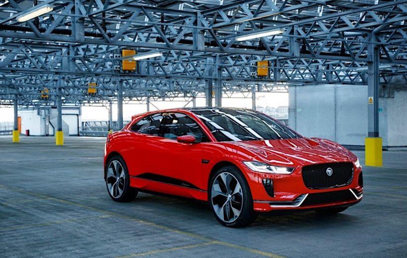 I-Pace – Crossover chạy điện hoàn toàn mới của Jaguar