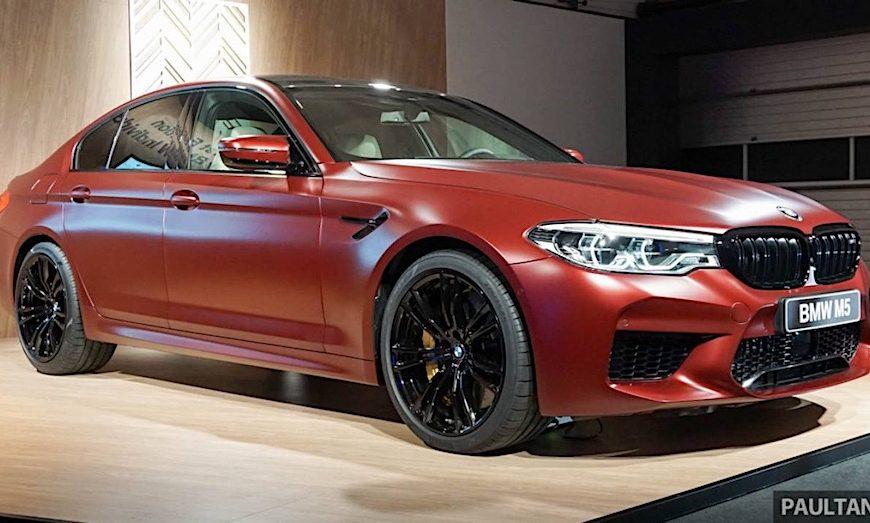 Cận cảnh BMW M5 First Edition với số lượng chỉ 500 xe trên toàn thế giới
