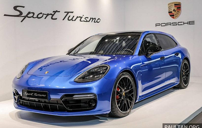 Porsche Panamera Sport Turismo có giá 8,57 tỷ đồng tại Malaysia