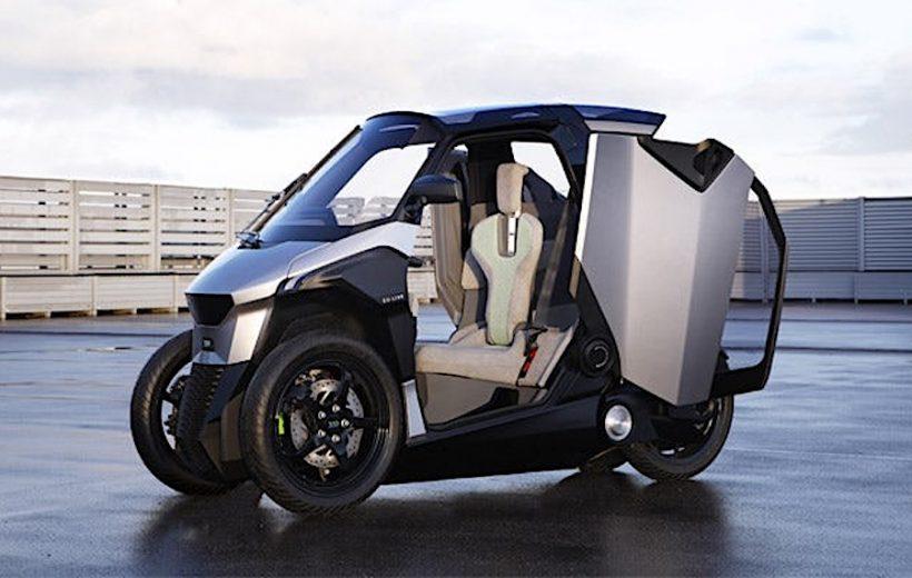 Peugeot giới thiệu xe tay ga 3 bánh- PHEV