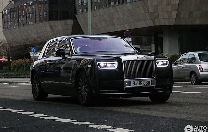 Bắt gặp Rolls-Royce Phantom thế hệ mới nhất trên đường phố Berlin