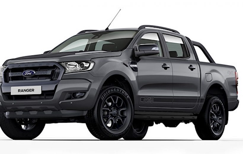 Ford Ranger thế hệ mới sẽ có ngoại hình mạnh mẽ hơn