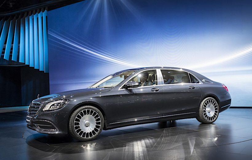 Mercedes-Benz S-Class 2018 chuẩn bị bán ra Việt Nam