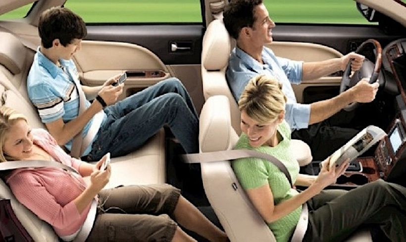 Kể từ đầu năm 2018 sẽ thắt chặt quy định thắt đai an toàn cho hành khách