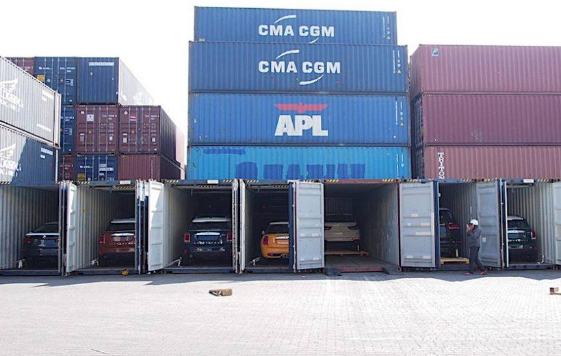 Lô xe BMW và Mini của Thaco nhập khẩu đã cập cảng Việt Nam