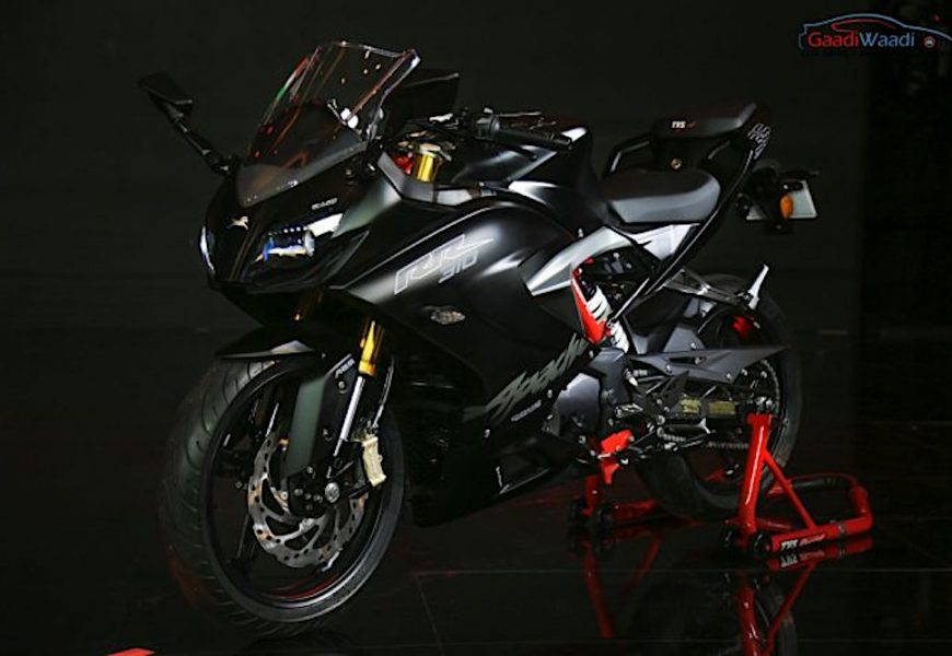 Sportbike TVS Apache RR 310 có giá bán chỉ 72 triệu đồng