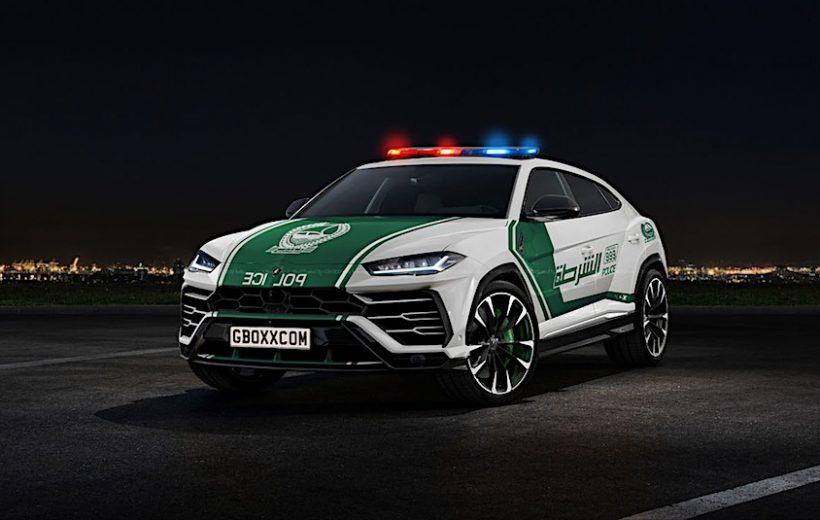 Lamborghini Urus sẽ xuất hiện trong lực lượng cảnh sát Dubai