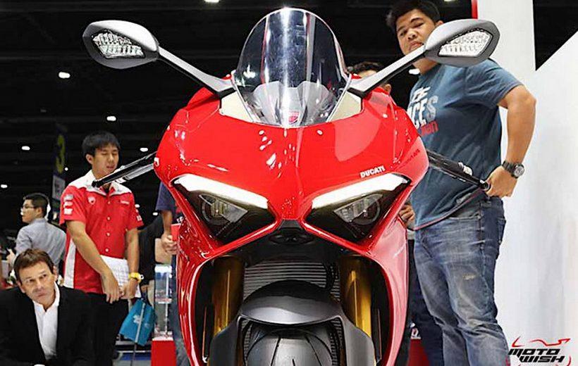 Ducati Panigale V4 ra mắt tại tại Thái Lan với giá bán từ 660 triệu đồng