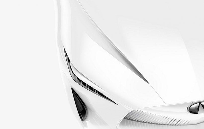 Infiniti hé lộ mẫu Concept Sedan hoàn toàn mới